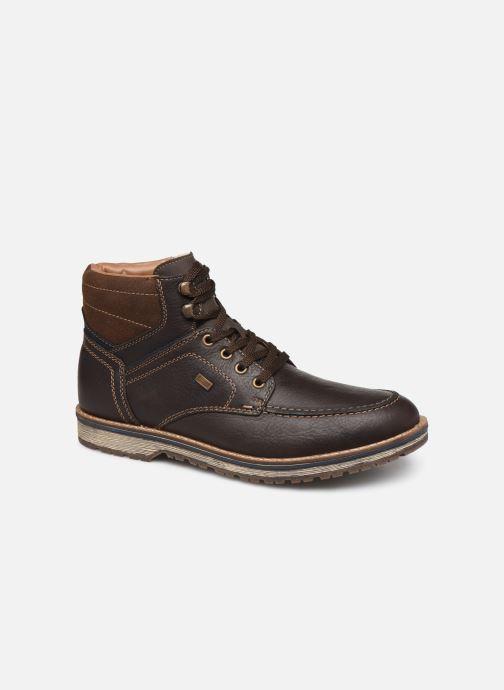 Bottines et boots Rieker Theodore Marron vue détail/paire