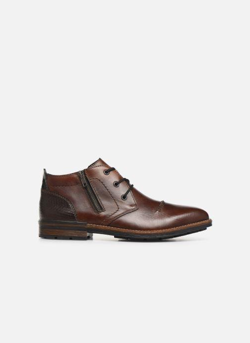 Boots en enkellaarsjes Rieker Odin Bruin achterkant