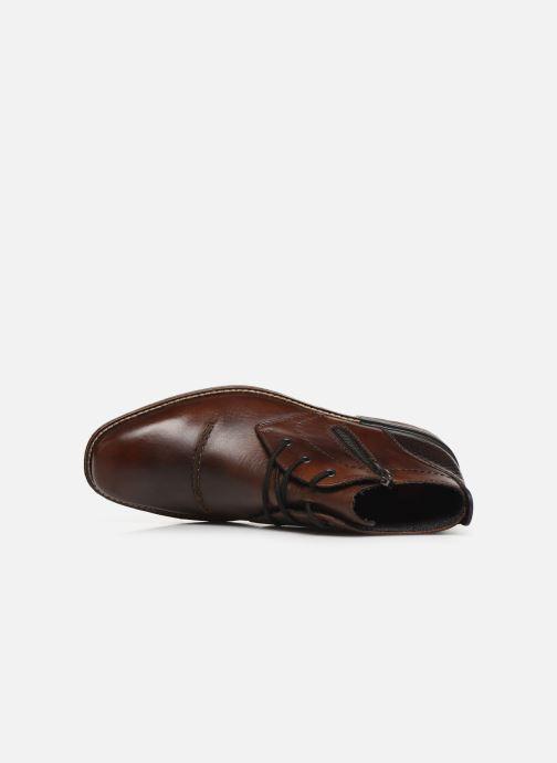 Boots en enkellaarsjes Rieker Odin Bruin links