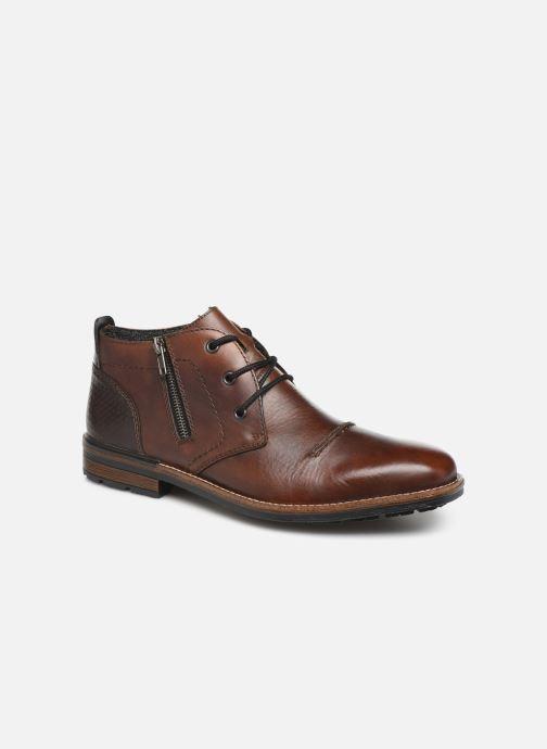 Boots en enkellaarsjes Rieker Odin Bruin detail