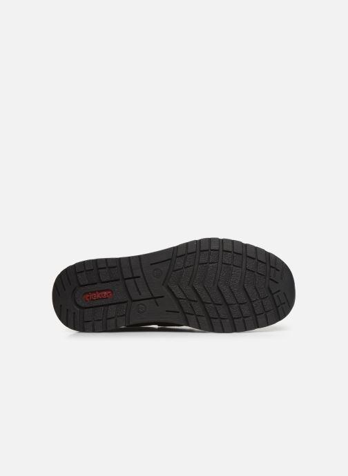 Chaussures à scratch Rieker Elie Marron vue haut