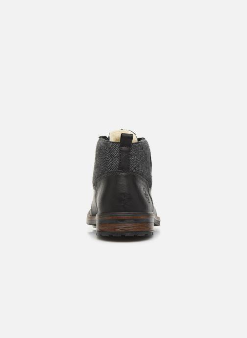 Bottines et boots Rieker Julio Noir vue droite