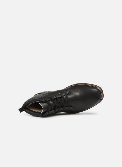 Bottines et boots Rieker Julio Noir vue gauche
