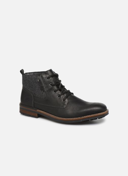 Ankle boots Rieker Julio Black detailed view/ Pair view
