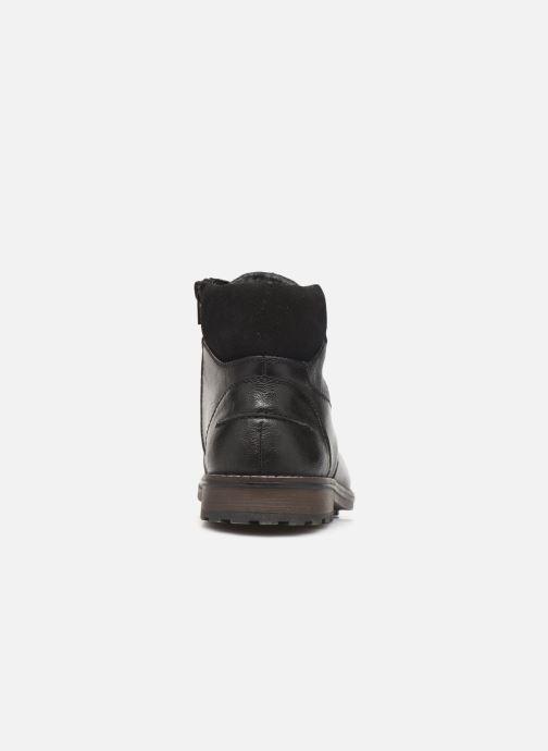 Bottines et boots Rieker Damien Noir vue droite