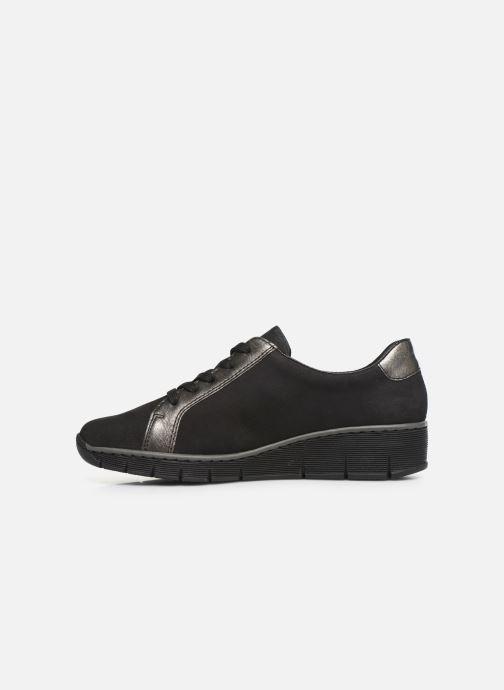 Sneakers Rieker Elisa Sort se forfra