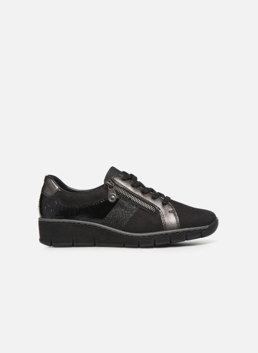 Sneakers Rieker Elisa Sort se bagfra