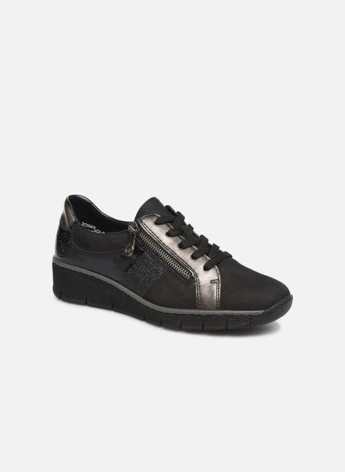 Sneakers Rieker Elisa Sort detaljeret billede af skoene
