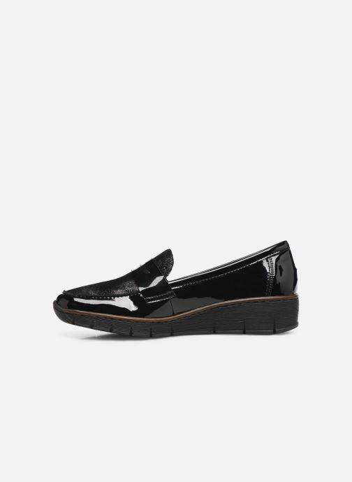 Loafers Rieker Naomi Black front view