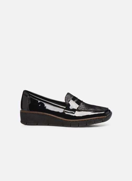 Loafers Rieker Naomi Black back view