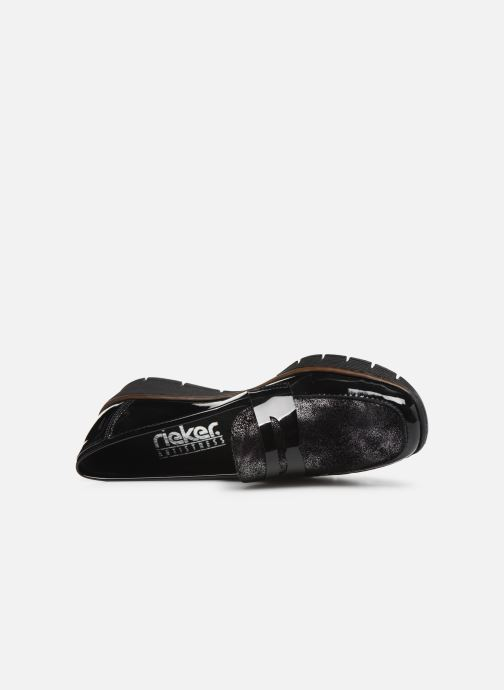 Loafers Rieker Naomi Black view from the left