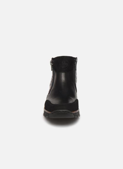 Bottines et boots Rieker Nami Noir vue portées chaussures