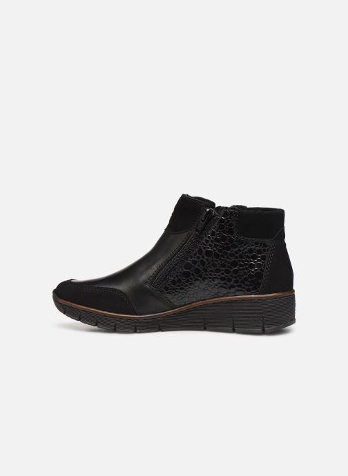 Bottines et boots Rieker Nami Noir vue face