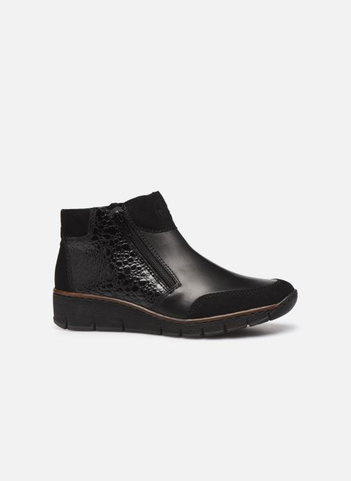Ankle boots Rieker Nami Black back view