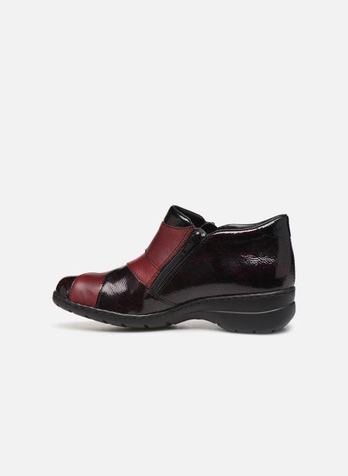 Bottines et boots Rieker Claudia Bordeaux vue face