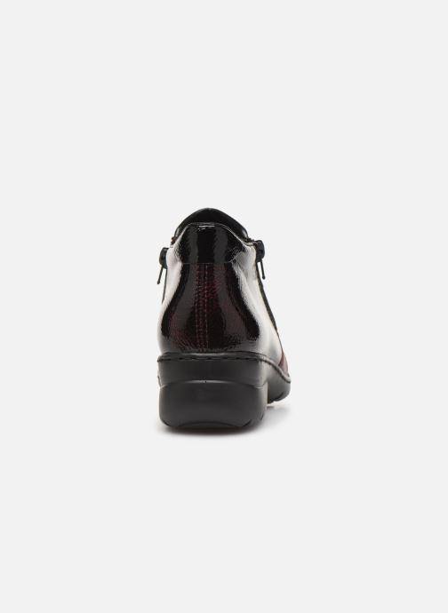 Bottines et boots Rieker Claudia Bordeaux vue droite