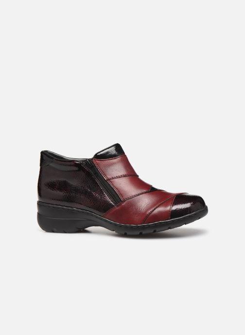 Bottines et boots Rieker Claudia Bordeaux vue derrière