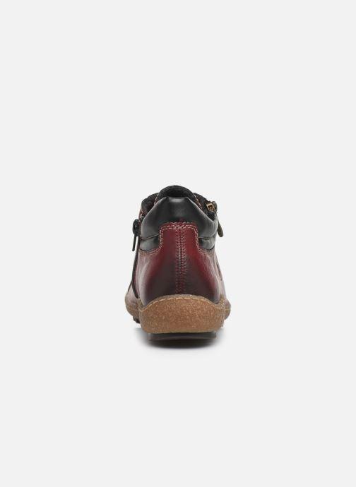 Sneakers Rieker Roro Bordò immagine destra