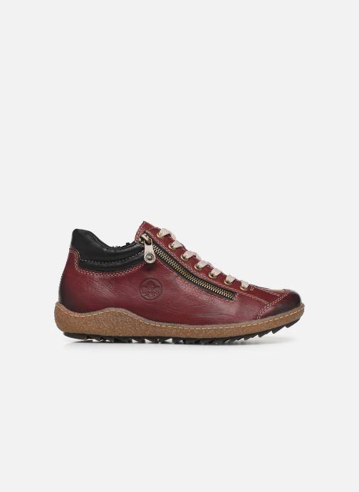 Sneakers Rieker Roro Bordò immagine posteriore