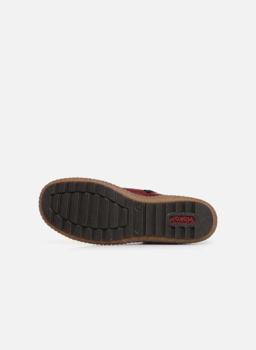Sneakers Rieker Roro Bordò immagine dall'alto