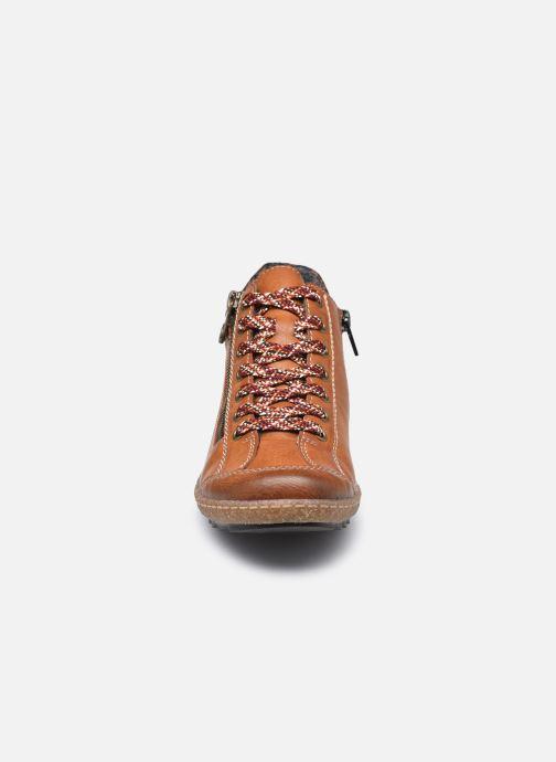 Baskets Rieker Roro Marron vue portées chaussures