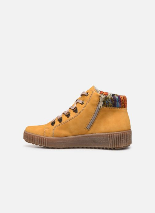 Sneakers Rieker Gibia Gul se forfra