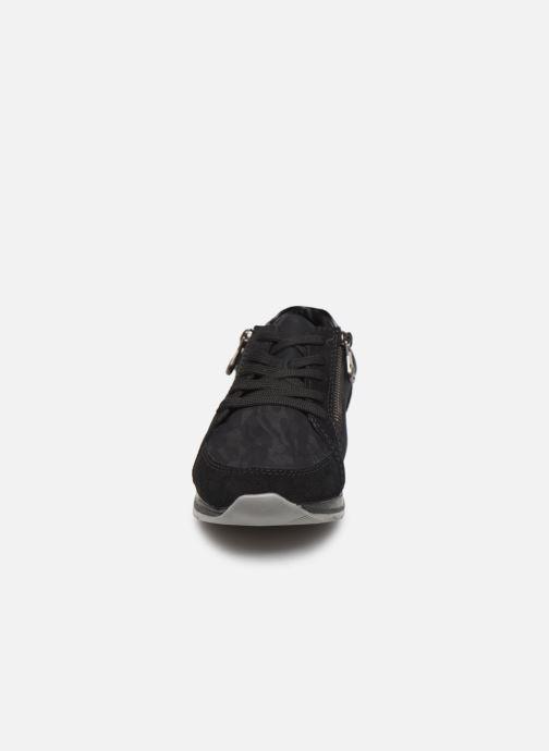 Baskets Rieker Mia Noir vue portées chaussures