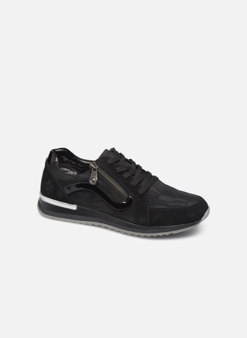 Sneakers Rieker Mia Sort detaljeret billede af skoene