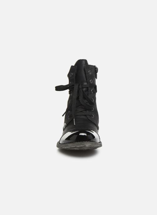 Bottines et boots Rieker Pia Noir vue portées chaussures