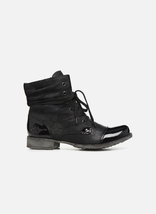 Boots en enkellaarsjes Rieker Pia Zwart achterkant