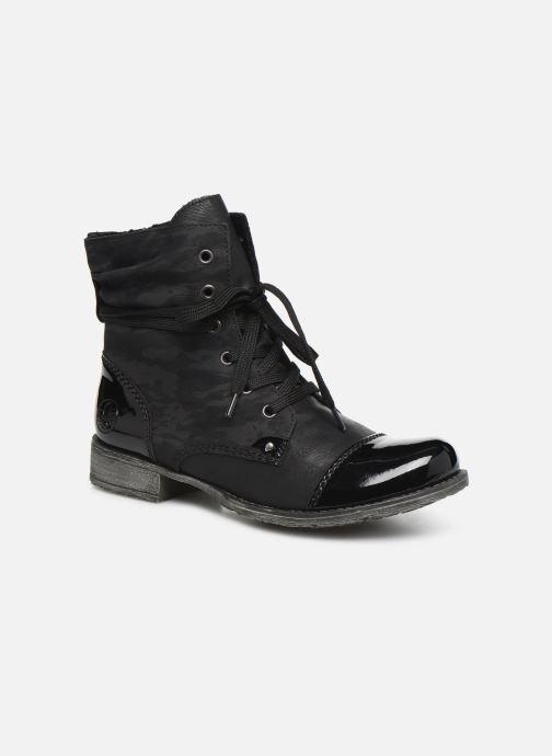 Boots en enkellaarsjes Rieker Pia Zwart detail