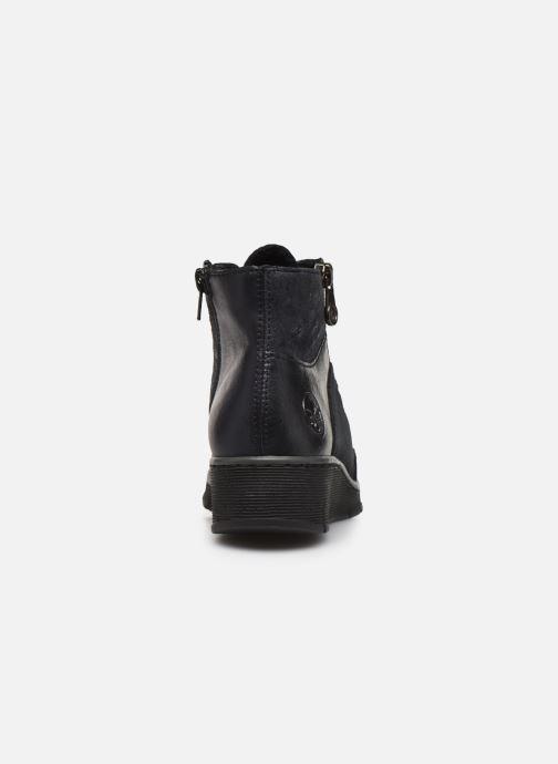 Bottines et boots Rieker Lia Bleu vue droite