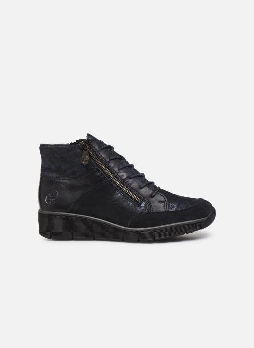 Bottines et boots Rieker Lia Bleu vue derrière