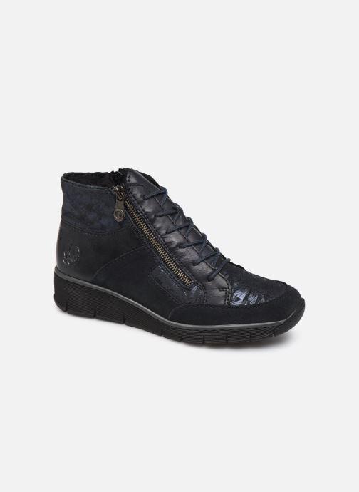 Bottines et boots Rieker Lia Bleu vue détail/paire