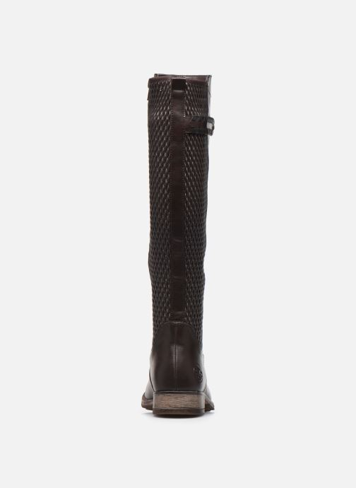 Boots & wellies Rieker Marka Brown view from the right