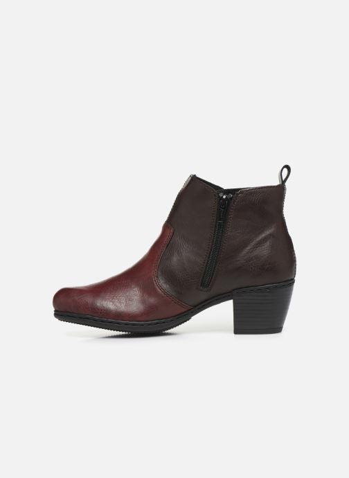 Bottines et boots Rieker Dina Bordeaux vue face