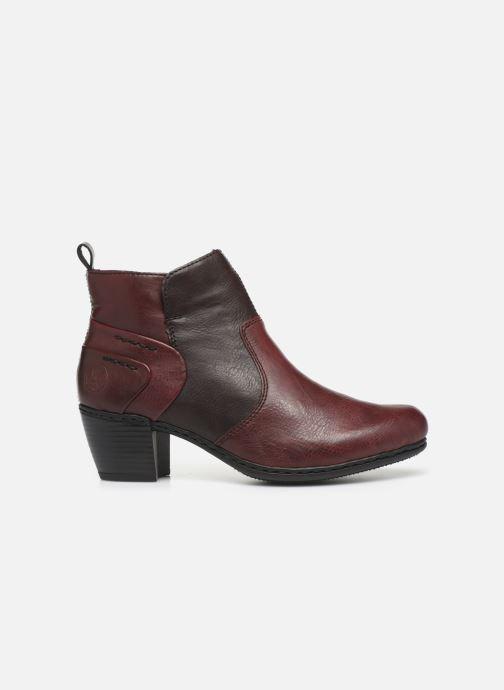 Bottines et boots Rieker Dina Bordeaux vue derrière