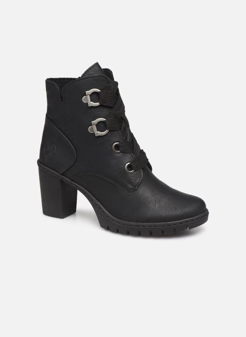 Ankelstøvler Rieker Amina Sort detaljeret billede af skoene