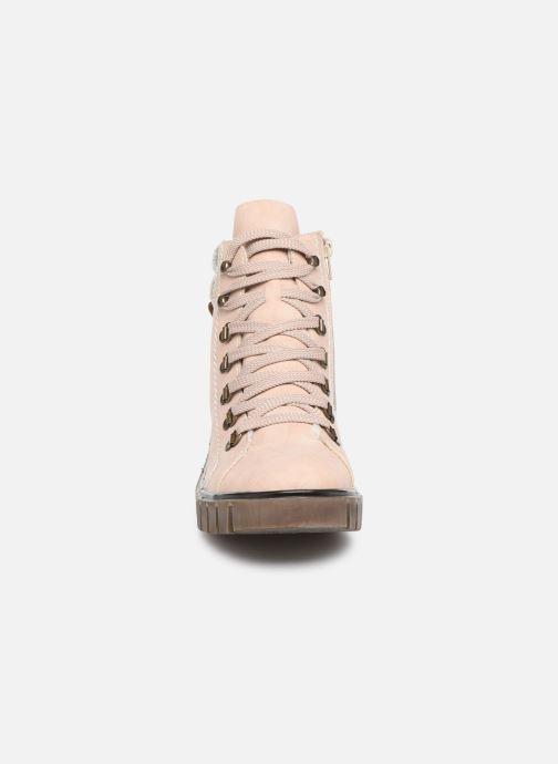 Bottines et boots Rieker Eta Rose vue portées chaussures