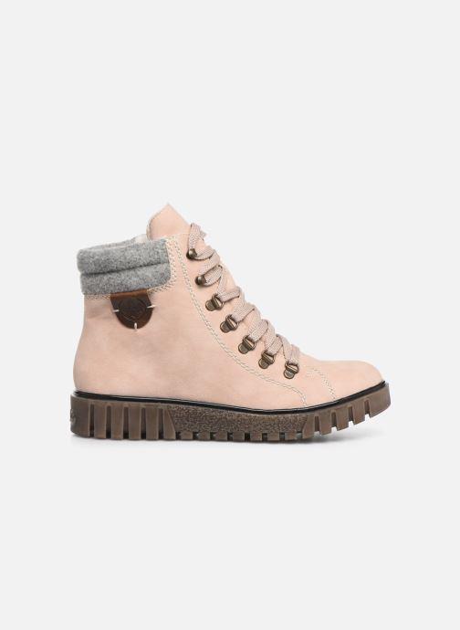 Bottines et boots Rieker Eta Rose vue derrière