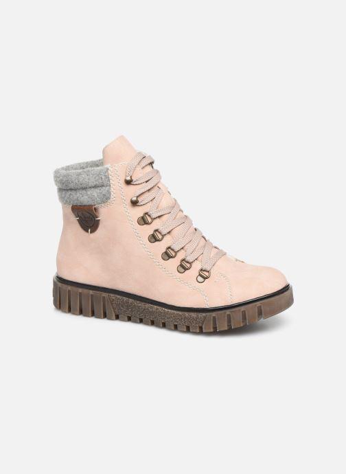 Bottines et boots Rieker Eta Rose vue détail/paire