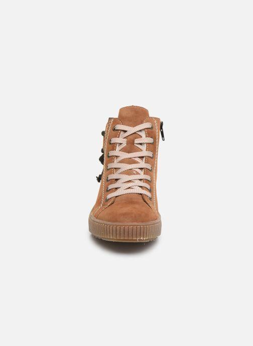 Baskets Rieker Biani Marron vue portées chaussures