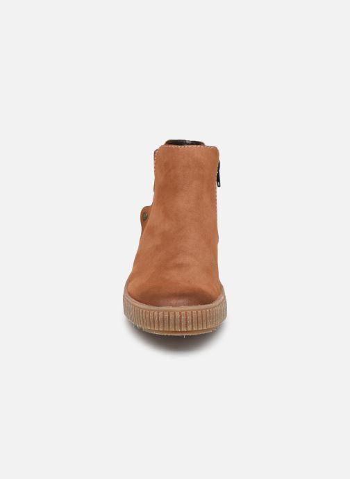Bottines et boots Rieker Carole Marron vue portées chaussures