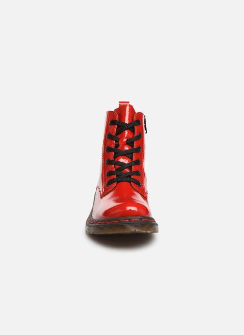 Boots en enkellaarsjes Rieker Noemie Rood model