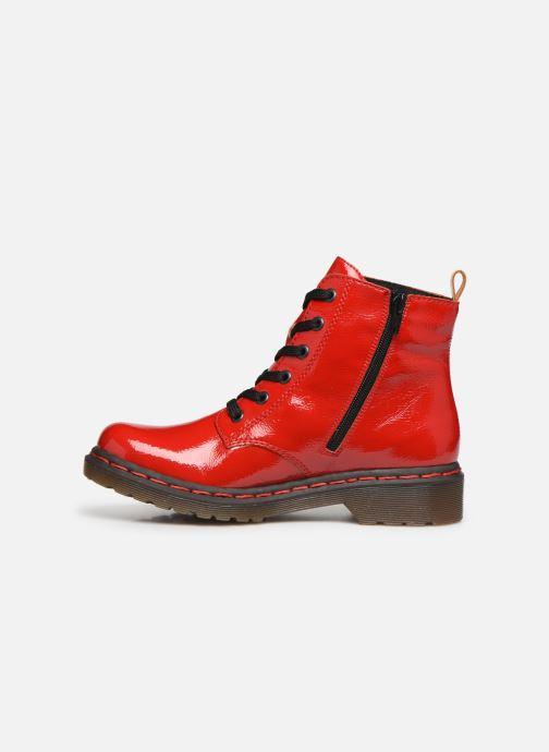 Boots en enkellaarsjes Rieker Noemie Rood voorkant