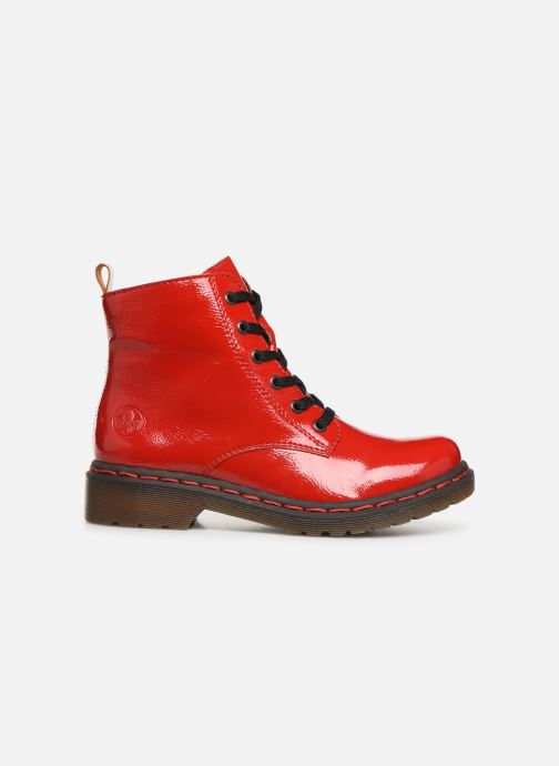 Boots en enkellaarsjes Rieker Noemie Rood achterkant