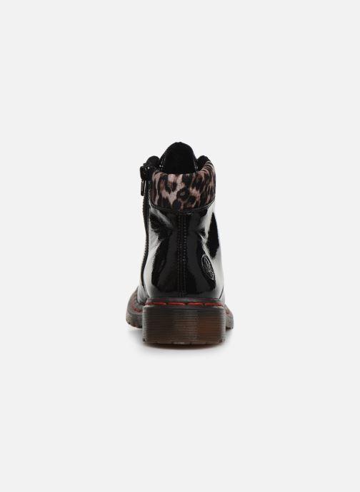Bottines et boots Rieker Phili Noir vue droite