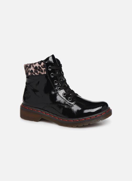 Bottines et boots Rieker Phili Noir vue détail/paire