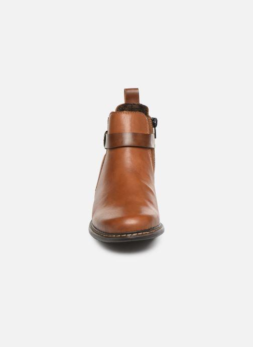 Bottines et boots Rieker Florianne Marron vue portées chaussures