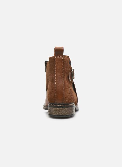 Bottines et boots Rieker Florianne Marron vue droite